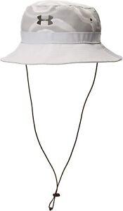NEW! Under Armour Men's ArmourVent Warrior Bucket Hat, Halo Gray/Metallic, OSFA