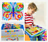 592 Pegs Children Kids Puzzle Peg Board Educational Toys Game Set Creative Gifts