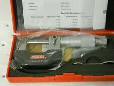 Spi Tube Micrometer 0 25mm Graduation 001mm 14 511 0