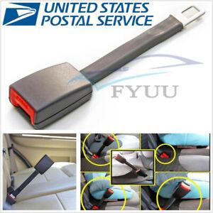 1 Pcs Gray 25cm Car Seat Seatbelt Extender Extension Buckle Belt Clip