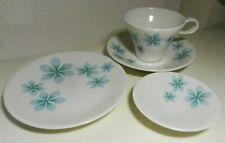 Iroquois Impromptu By Ben Seigel BLUE PETALS 4 Pc TEA Set--5 sets available