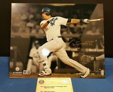 Gary Sanchez Autographed Signed NY Yankees Metallic 8x10 Photo Auth by Steiner.