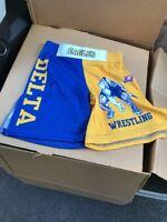 Youth Medium Wrestling Shorts By Brute Delta Eagles