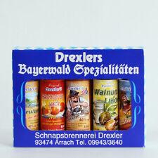 64,50 €/L Drexlers Bayerwald-Spezialitäten 5 x 0,04 Ltr. Geschenk-Set, Drexler