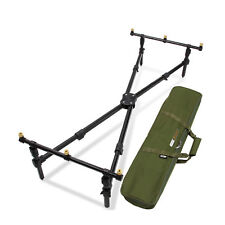(P) NGT CROSS ROD POD CARP FISHING WITH DELUXE FISHING POD INCLUDES BAG