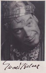 Ewald Balser - Foto: Dietrich, Wien - original signiert