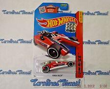 "2015 Hot Wheels Factory Sealed Set #182 (red) ""HONDA RACER"" ~ K2"