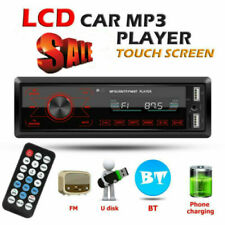 Single 1 Din Car DVD CD MP3 Player FM Audio Radio BT USB/AUX/SD Stereo In-dash