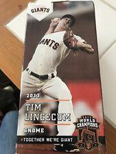 TIM LINCECUM GNOME NEW IN BOX San Francisco Giants 2013 SGA 2012 Champions