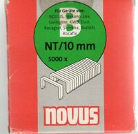 Novus, Tackerklammern Typ B  NT/10 mm----5000 Stück