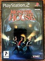 Monster House PS2 Juego Dreamworks Sony PLAYSTATION 2 Basado en la Película