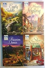 Lot of 4 Mysteries of Silver Peak, Carole Jefferson, #1, 3, 8, 9, Guideposts HC