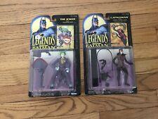 Batman Lot Legends of Batman JOKER CATWOMAN Figures Kenner 1994