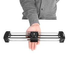 SELENS Mini DSLR Camera Track Rail Slider Dolly Video Camcorder DV Stabilization