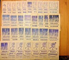 More details for halifax rugby league programmes 1954 - 1982