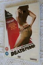 DEATH PROOF- DVD, 2-DISC, REGION-2, LIKE NEW, FREE POST WITHIN AUSTRALIA