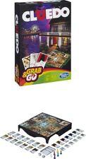 Juego de mesa Cluedo de Hasbro version portatil de viaje, 3-6 jugadores, Español