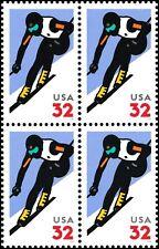 US 3180 Alpine Skiing 32c block MNH 1998