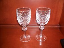 WATERFORD CRYSTAL POWERSCOURT WHITE WINE GLASSES - SET OF 2