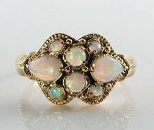 Opal 9 Carat Ring Art Deco Fine Jewellery