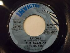 Chairman Of The Board Patches / Everything's Tuesday 45 Invictus Vinyl Record