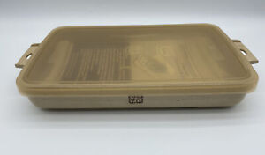 LITTONWARE Microwave Ovenware 2 QT Roaster, Rack, Lid Cook Roast'N Store Vintage