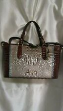 "WOMEN`S BRAHMIN ""MINI  ASHER""  MOONSCAPE PORTIA HANDBAG NEW #N70 167600536"