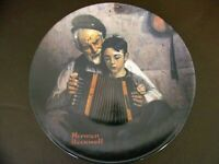 """Vintage Norman Rockwell Collector Plate """"The Music Maker"""""""