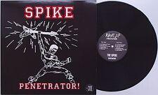 Spike - Penetrator! LP Penetrators Trend Syracuse New York Punk KBD Bloodstains