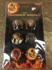 NECA - Hunger Games Catching Fire - Movie Replica Props - Character Pin Set! New