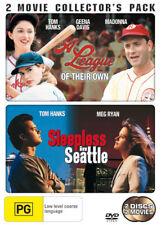 A League of Their Own / Sleepless in Seattle NEW DVD (Region 4 Australia)