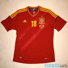 Camiseta España Adidas EURO 2012 Jordi Alba (talla L)