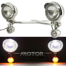 Driving Passing Fog Turn Signals Light Bar For Honda Shadow ACE 1100 VT1100C USA