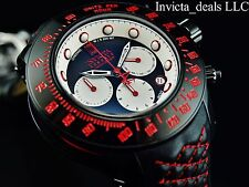 Invicta Reserve 52mm JT Subaqua Trackmaster LE Swiss Chronograph Leather Watch