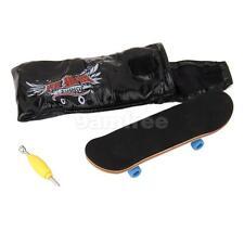 Bearing Wheels & Wooden Fingerboard Maple Wood Finger Skateboard Kids Toys