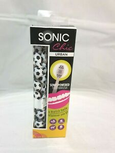 Sonic Chic Urban Sonic Powered Toothbrush Travel Gym Footballs Design Gift
