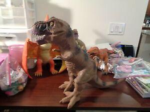 "Tyrannosaurus Rex Dinosaur Toys R Us  Large Rubber Figure Toy 27"""