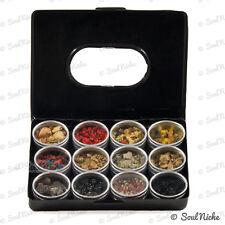 Exotic Resin Incense Sampler - 12 Resins Starter Kit Gift Set