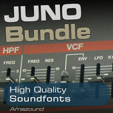 JUNO-106 JUNO-60 JUNO-6 JUNO ALPHA 328 SOUNDFONTS 2878 SAMPLES MAC PC LOGIC FL