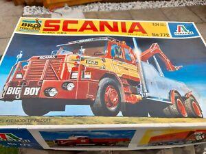 Italeri Wrecker Tow Truck 1/24