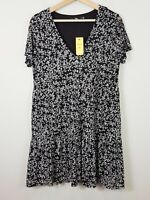 SPORTSGIRL | Womens Floral Print Dress NEW + TAGS [ Size S or AU 10 / US 6 ]