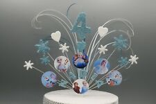Frozen Elsa Olaf Cake Topper Decoration Stars on Wires 3rd 4th 5th 6th 7th  009