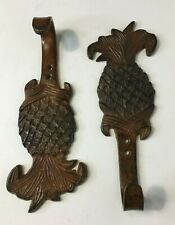 Pineapple Cast Iron Wall Hook Key Coat Solid Metal Copper Bronze
