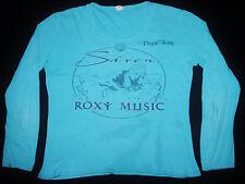 VINTAGE 70's 1975 ROXY MUSIC BRYAN FERRY PUNK ROCK TOUR CONCERT PROMO T-SHIRT