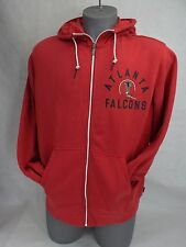 New Mens 2XL XXL Nike NFL Atlanta Falcons Hoody Zip Jacket Red $85 537834-604