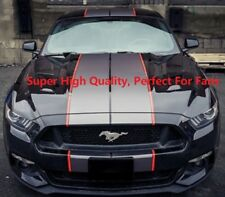 Dual Rally Ford Racing Stripe For Ford Mustang GT Sports Decal Sticker 78.74''