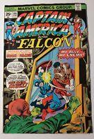 Marvel Comics Captain America And The Falcon #186 June 1975