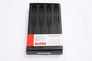 Alessi Nuovo Milano -  Pastry Fork Set - 4 Piece (1 Box)