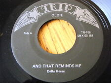 """DELLA REESE - AND THAT REMINDS ME  7"""" VINYL"""