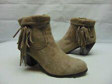 72f6c43c3757f Sam Edelman Women s 8 M Louie Fringe-Trimmed Ankle Zip Up Boots